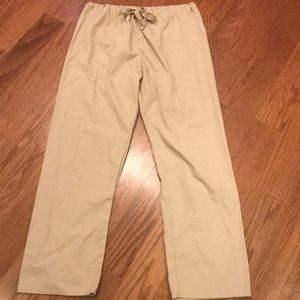 Tan Scrub Pants